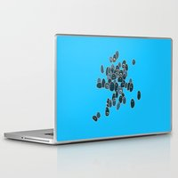eggs Laptop & iPad Skins featuring Eggs by Marc Mif