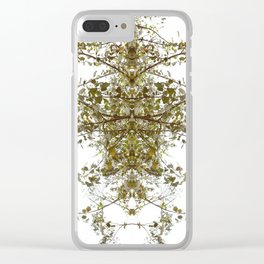 Mirrored Trees 6 Clear iPhone Case