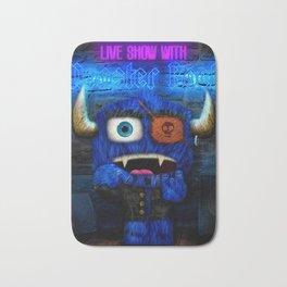 Monster Rock Show Bath Mat