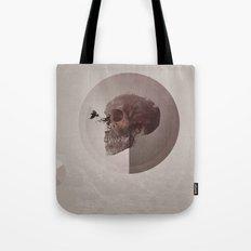 Skull Abstract #crow Tote Bag