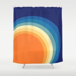 Rainbow Lag Shower Curtain