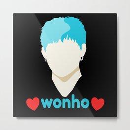 Wonho Love Fan Club Fandom Metal Print