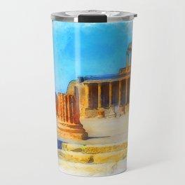Pompei, Italy Travel Mug