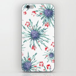 Screaming Thistle iPhone Skin