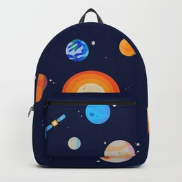 Planets Series Poster Backpack