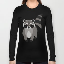 Raccoon in the Night Long Sleeve T-shirt