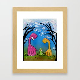 When I grow up I want to be just like you Framed Art Print