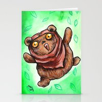 ewok Stationery Cards featuring The Happiest Ewok by Megan Mars