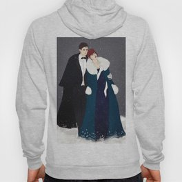 Winter Widow Anastasia Cross-over Hoody