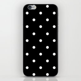 white dots iPhone Skin