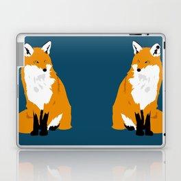 Red Fox (Dark Background) Laptop & iPad Skin