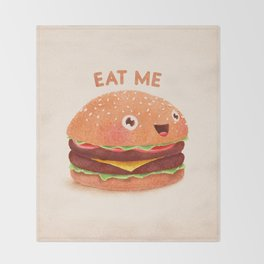 Burger Throw Blanket