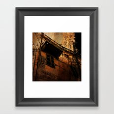 vétuste Framed Art Print
