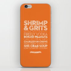 Charleston — Delicious City Prints iPhone & iPod Skin