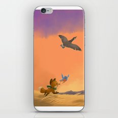 Fox and Boots - Migration iPhone & iPod Skin