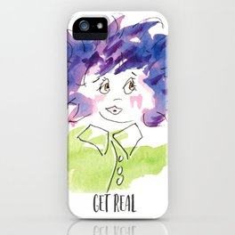 Get Real iPhone Case