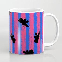 pink no blue bounding fairy stripes 2 Coffee Mug