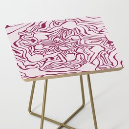 Cabbage Core Side Table