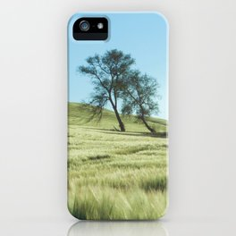 Lone Tree Photography Print iPhone Case