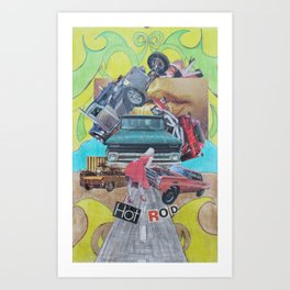 Hot Rod Art Print