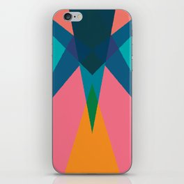 Cacho Shapes LXIII iPhone Skin