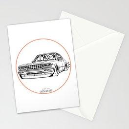 Crazy Car Art 0210 Stationery Cards
