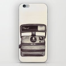 Ballpoint Palaroid Camera iPhone & iPod Skin