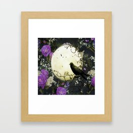 Gothic Moon Framed Art Print