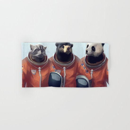 We can be heroes #astronaut Hand & Bath Towel