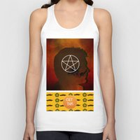 winchester Tank Tops featuring dean winchester by Papa-Paparazzi