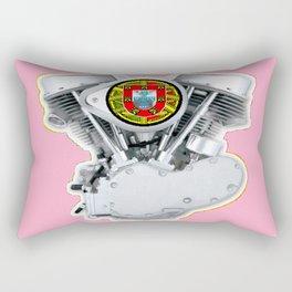 Portuguese Panhead Hot Pink. Rectangular Pillow