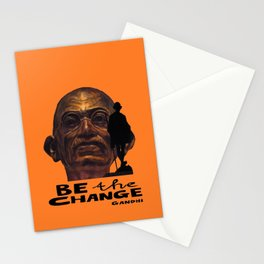 GANDHI quote Stationery Cards