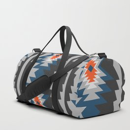 Wintry ethnic pattern Duffle Bag