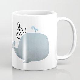 Oh Whale Coffee Mug