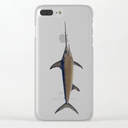 Swordfish Clear iPhone Case
