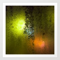 saga Art Prints featuring Condensation 08 - Saga | Citrus by PRE Media