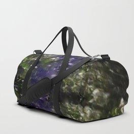 trees in the dark Duffle Bag