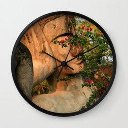 Zen Buddha Sleeping Wall Clock