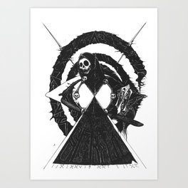 As Above Art Print