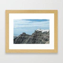 Santorini, Greece 16 Framed Art Print