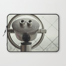 A tourists' view from the Eiffel Tower in Paris, France Laptop Sleeve