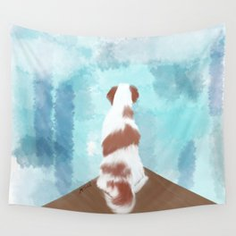Deschutes The Brittany Spaniel Wall Tapestry