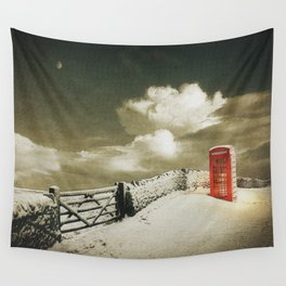 Winter in the Cotswolds, England Wall Tapestry