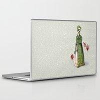 pride and prejudice Laptop & iPad Skins featuring Pride & Prejudice - Zombified by Studio Fibonacci