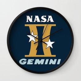 Project Gemini Logo Wall Clock