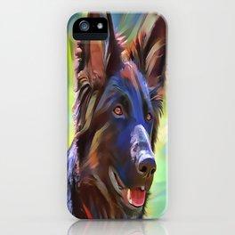The Sable Shepherd iPhone Case