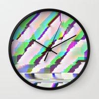 port10x10d Wall Clock