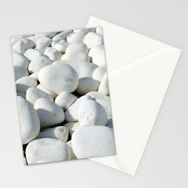 White stones Stationery Cards