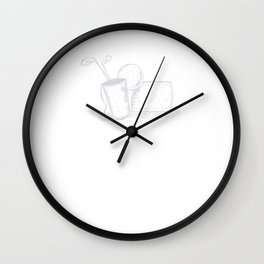 Golf Easy Game that's Just Hard to Play T-Shirt Wall Clock