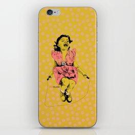 Jump Rope Rhyme iPhone Skin